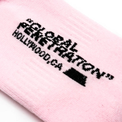 FU Socks | Pink / Detail 2