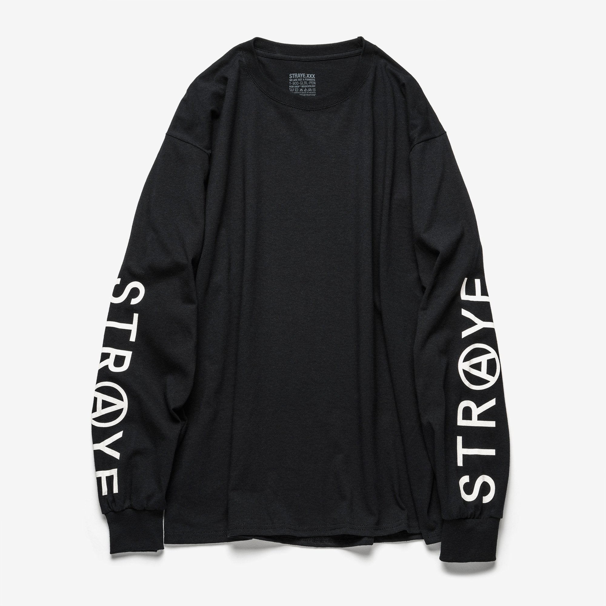 TRAP L/S T-SHIRT - BLACK