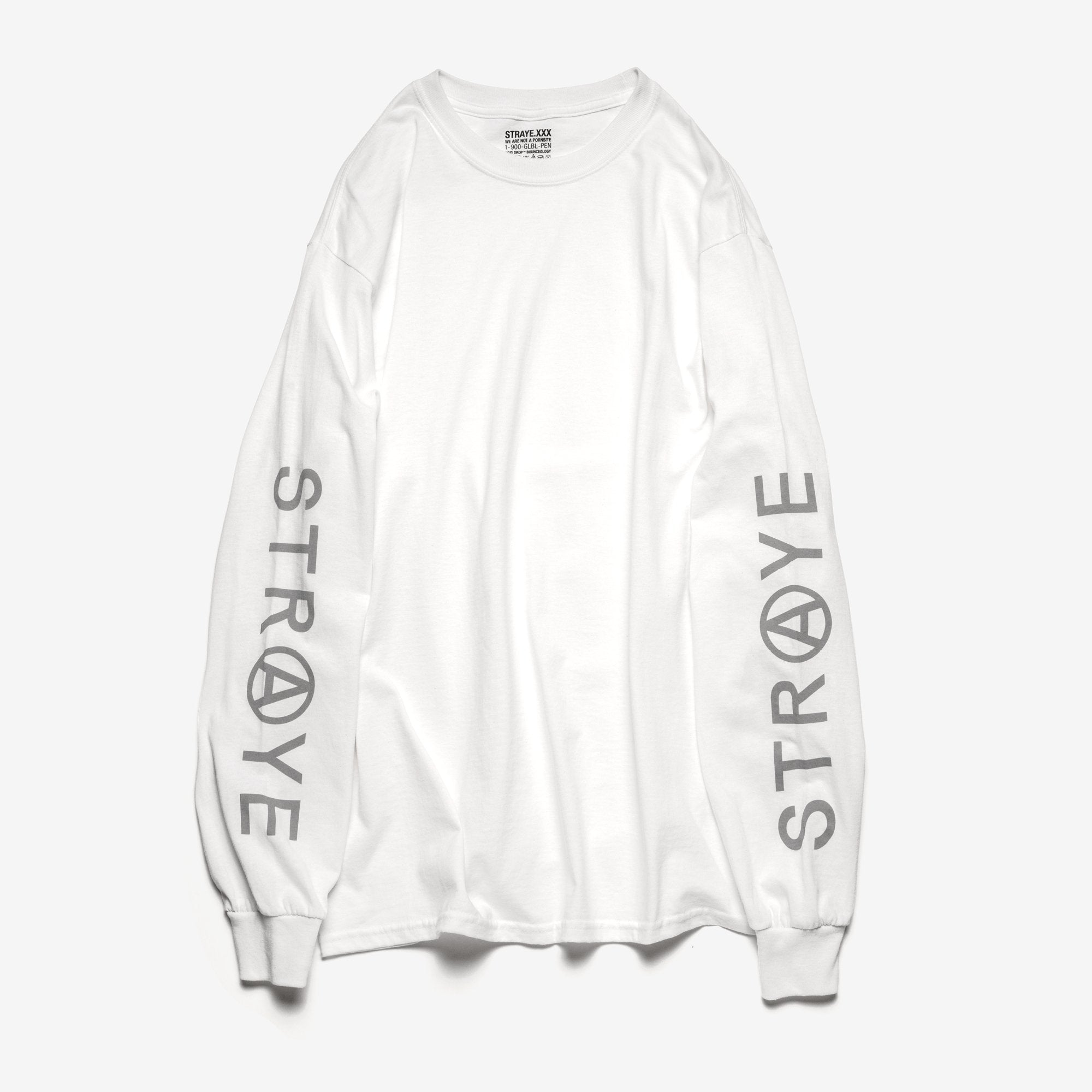 TRAP L/S T-SHIRT - WHITE FROST