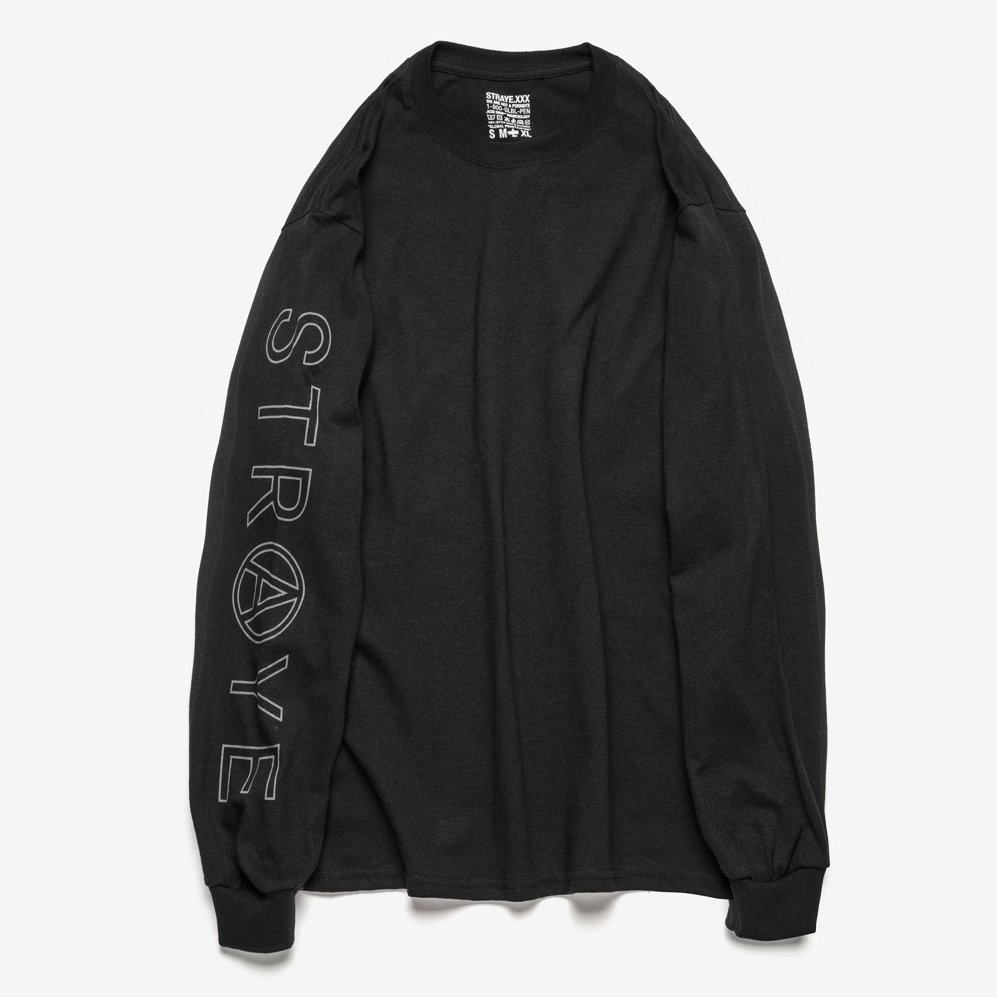 SUPER TRAP L/S T-SHIRT - BLACK
