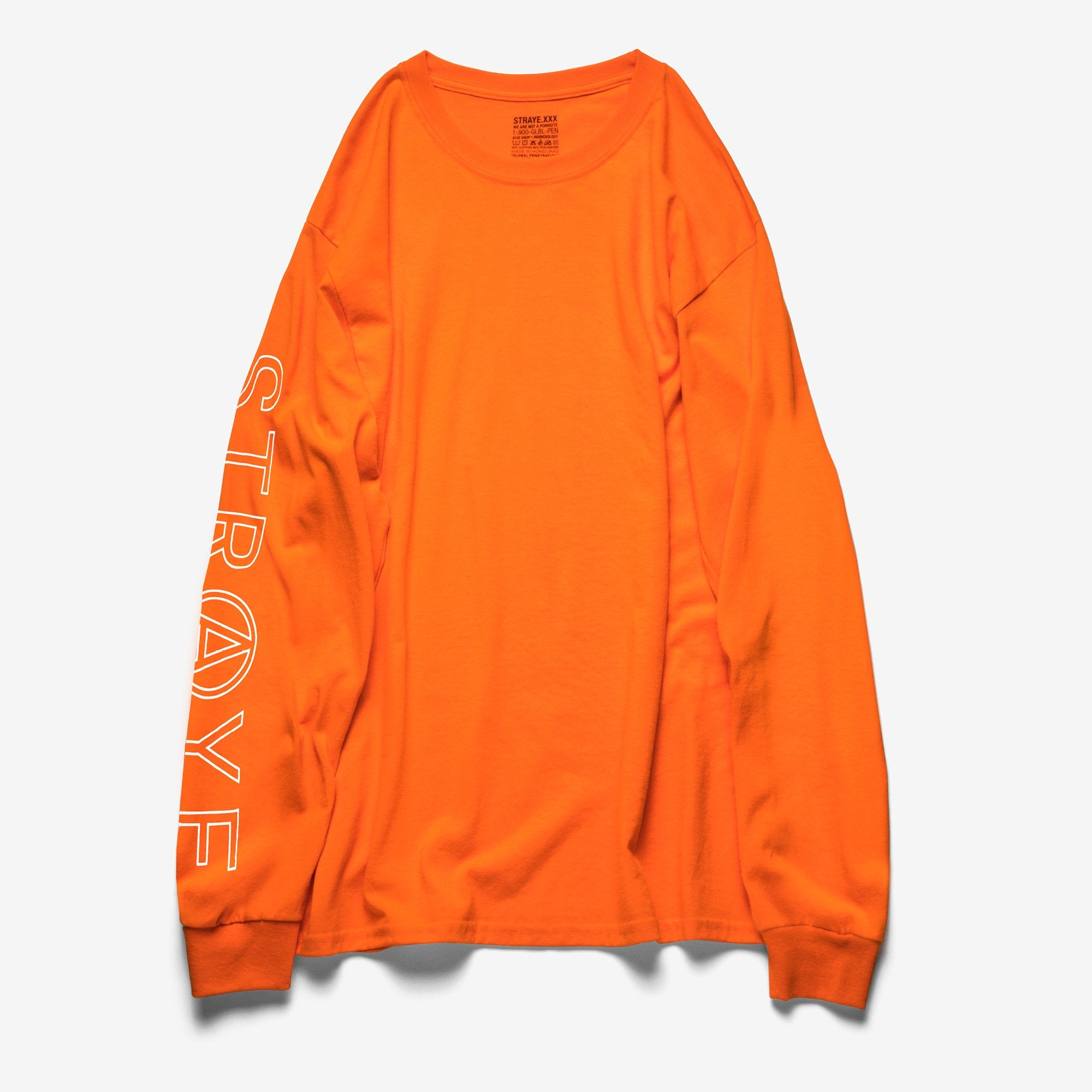 SUPER TRAP L/S T-SHIRT - BURNT ORANGE