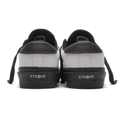 STANLEY - WHITE BLACK LEATHER