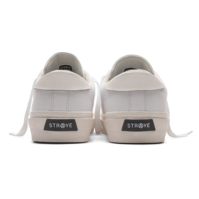 STANLEY - WHITE CREAM LEATHER