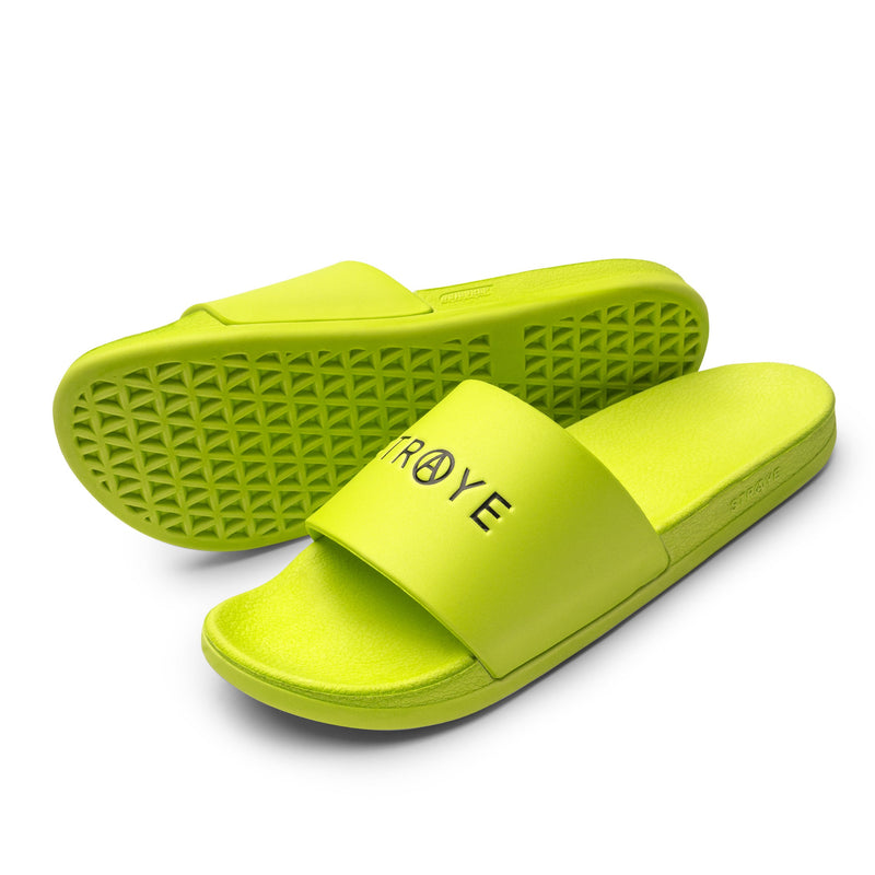 ZUMA SLIDE | SAFETY YELLOW / Lateral View