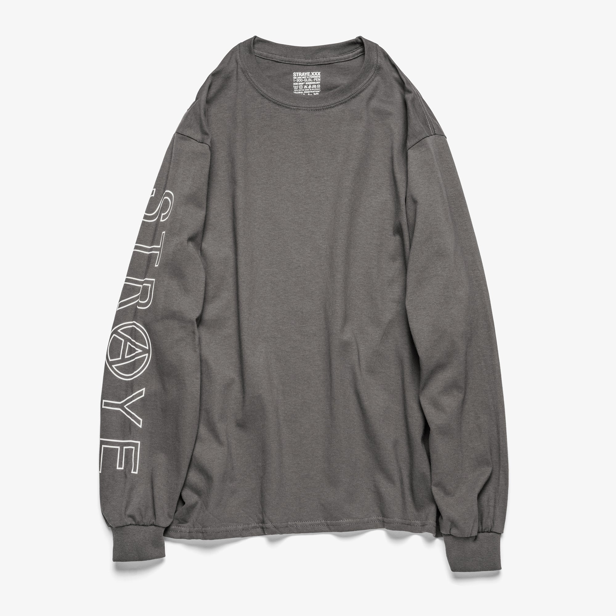 SUPER TRAP L/S TEE - CARBON