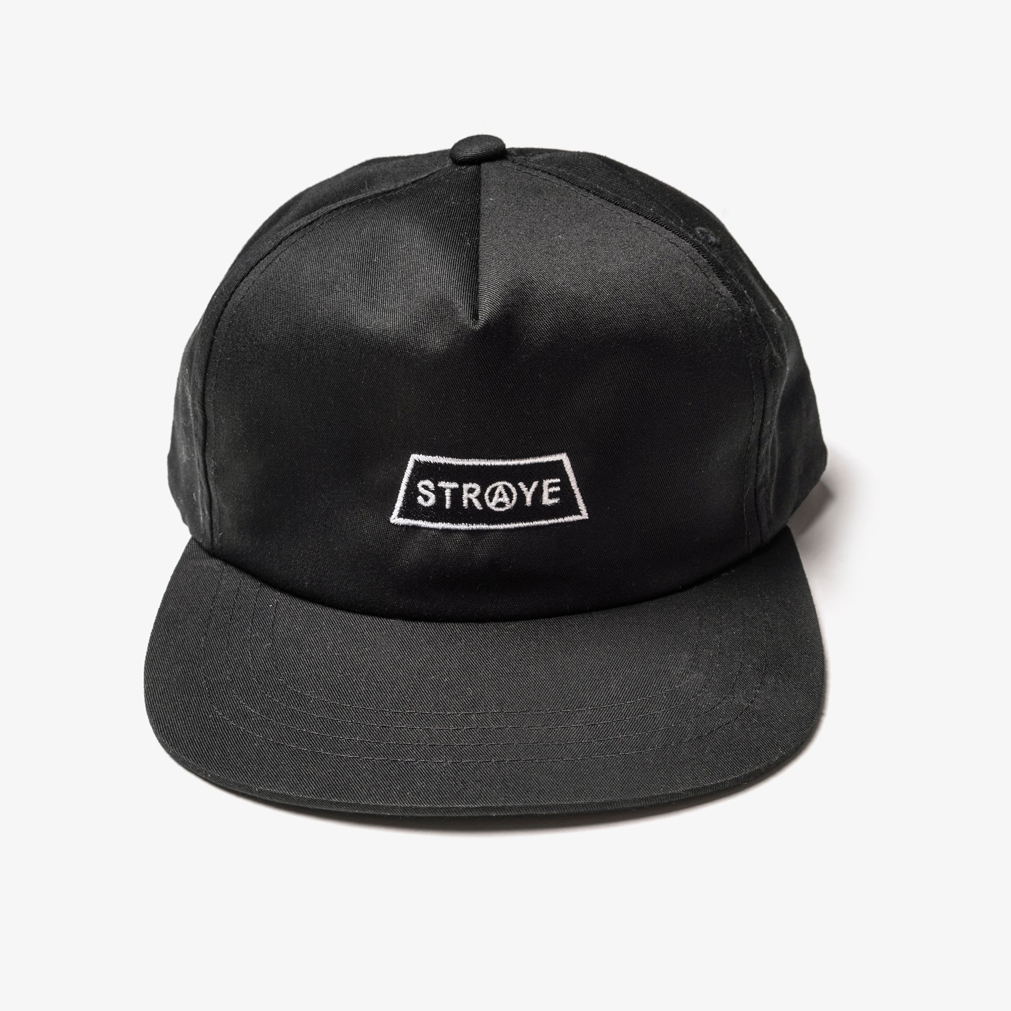 TRAP 5-PANEL HAT - BLACK