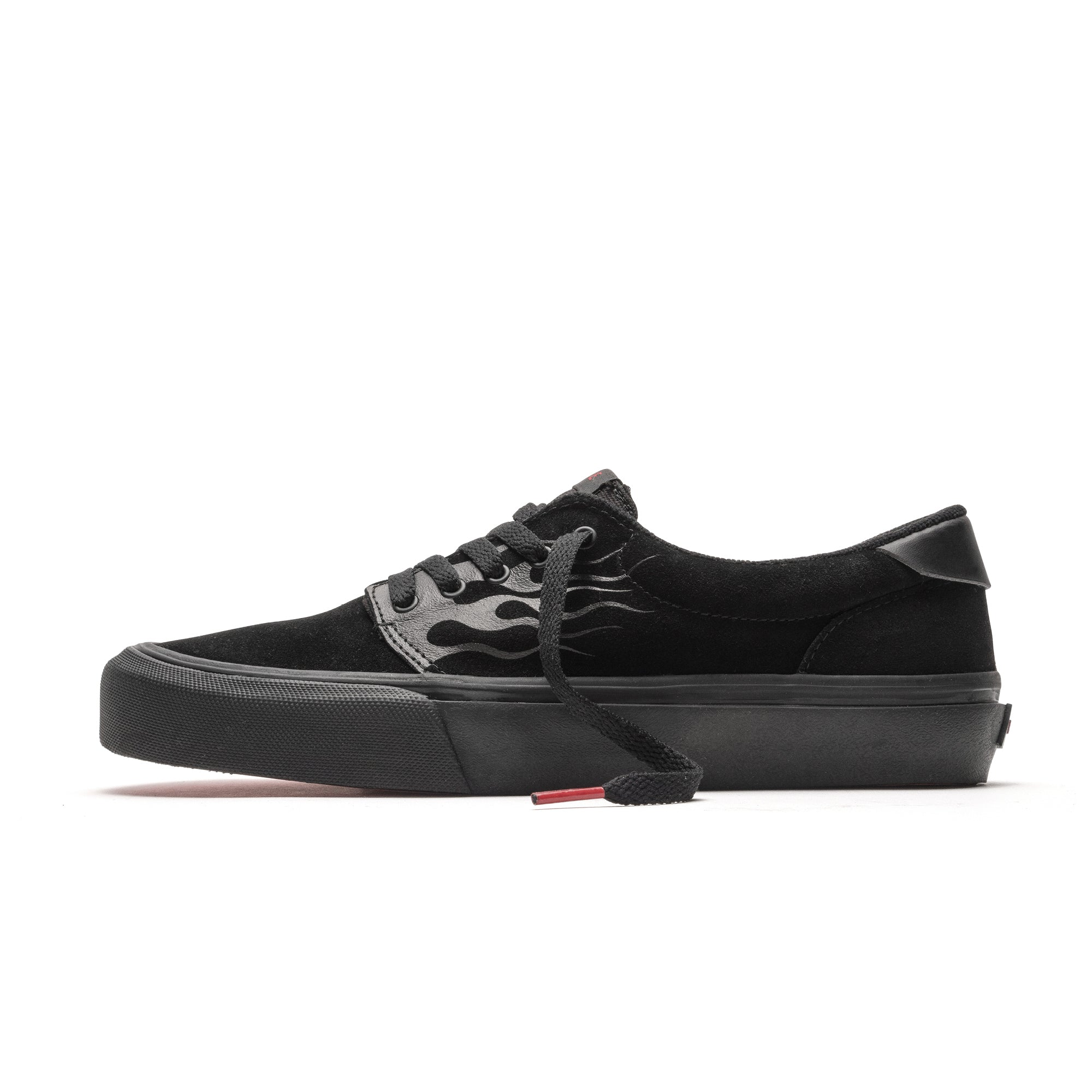 FAIRFAX - BLACK FLAME SUEDE