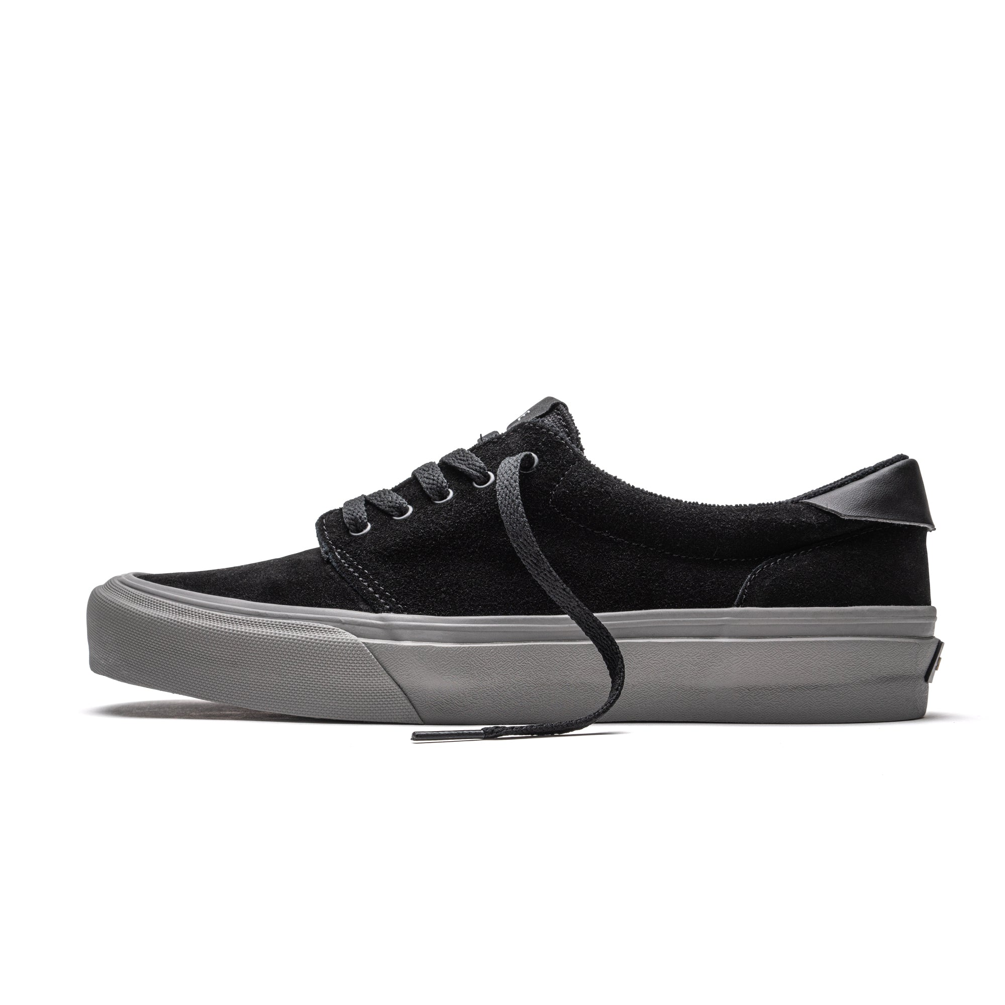 FAIRFAX - BLACK CHARCOAL SUEDE