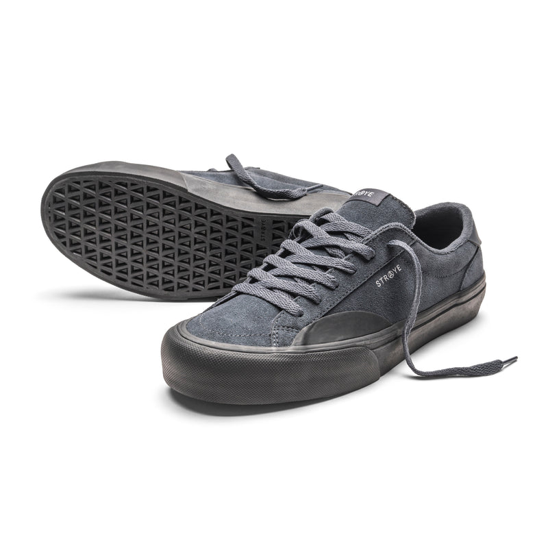 LOGAN-Carbon Suede-