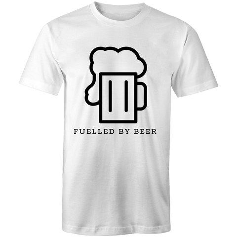 Fuelled By Beer - Mens T-Shirt