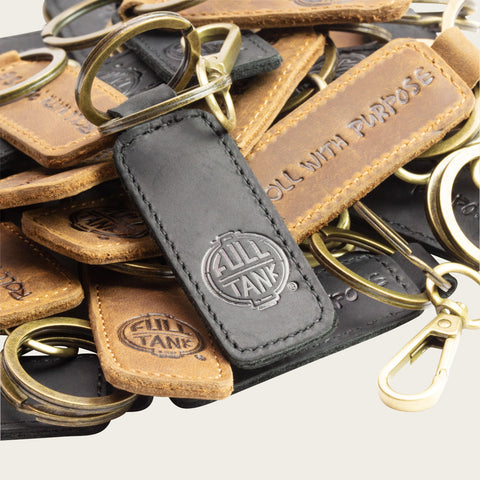 Premium Leather Keyring