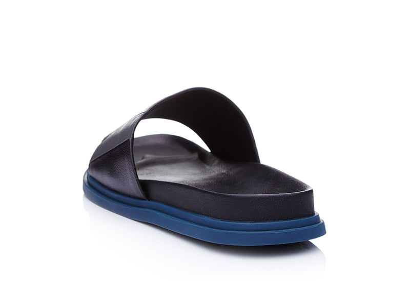 Colossal Leather Slide Sandals