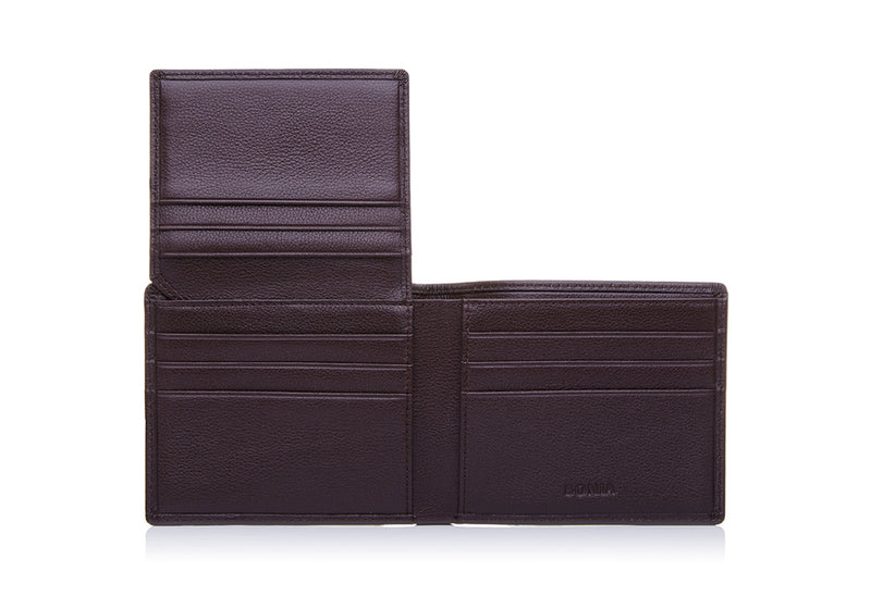 Salvatore Short Three Fold with Window Flap Wallet
