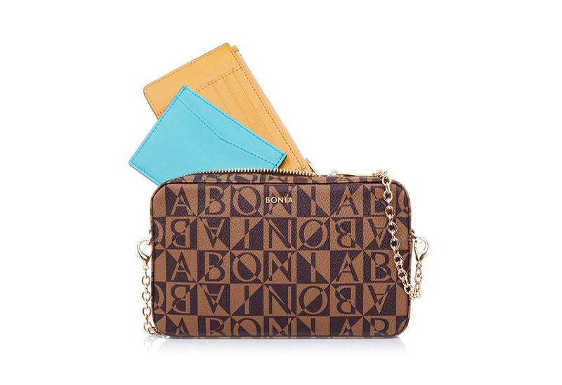 Monogram Sling Bag With Card Holder