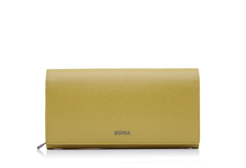 Carla Sophia Long 2 Fold Zipper Wallet