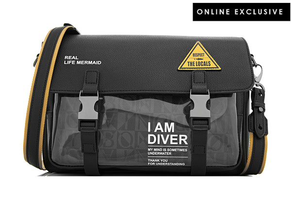 I Am Diver Messenger Bag M