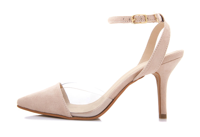 Paloma Suede Strappy Pumps