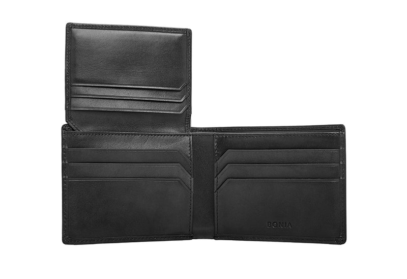 Joaquin Short 3 Fold Wallet With Window Flap