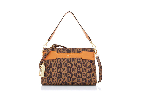 Gemma Monogram Shoulder Bag II