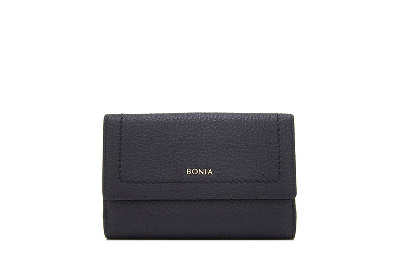 Architectural Short Two Fold Wallet