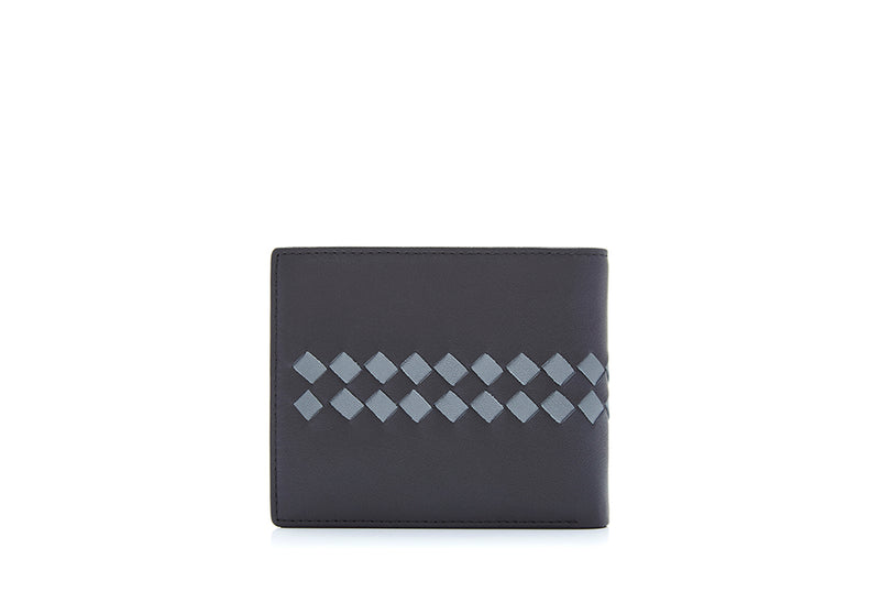 Reno Embroidered Short 3 Fold Wallet
