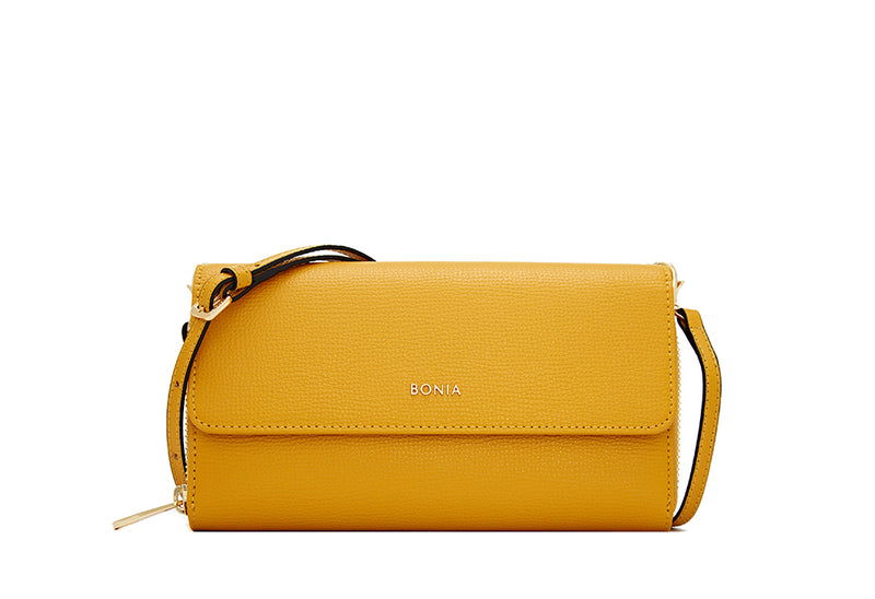 Dolores Long 2 Fold Zipper Wallet With Strap