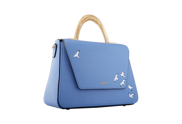 Hama Hand-Drawn Seagull Satchel