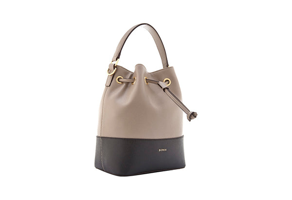 Sophia Duo Tone Basic Bucket Bag