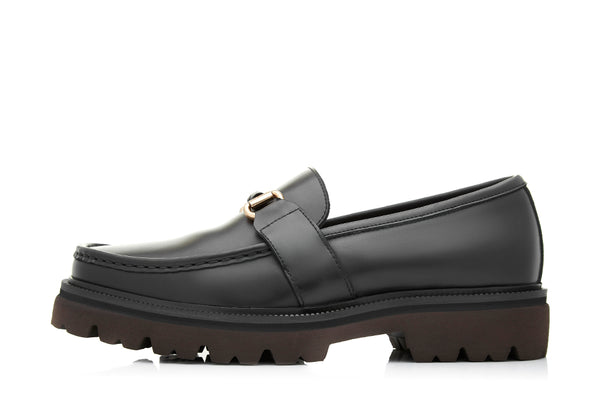Giampaolo Horsebit Platform Loafers