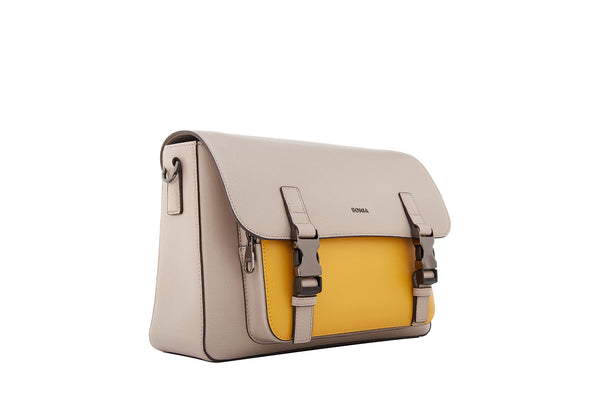 Sardinia Colour-Block Messenger Bag