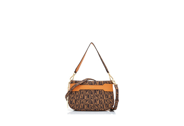 Gemma Monogram Shoulder Bag I
