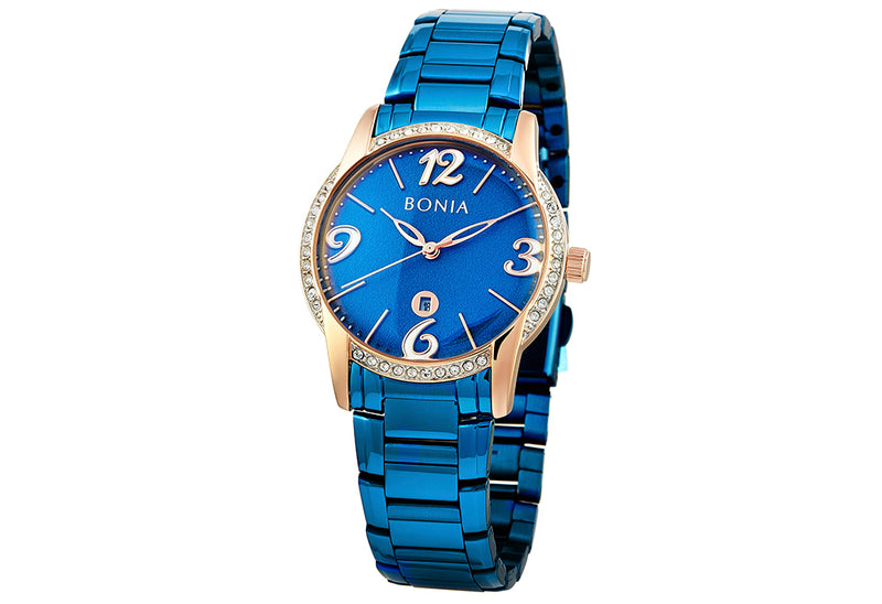 Blue And Rose Gold Karin Ladies' Watch