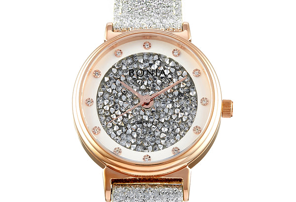 Silver And Rose Gold Dea Ladies' Watch