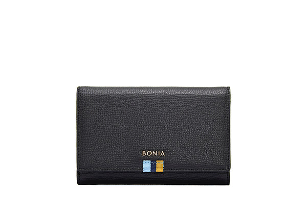 Dolores Short 3 Fold Zipper Wallet