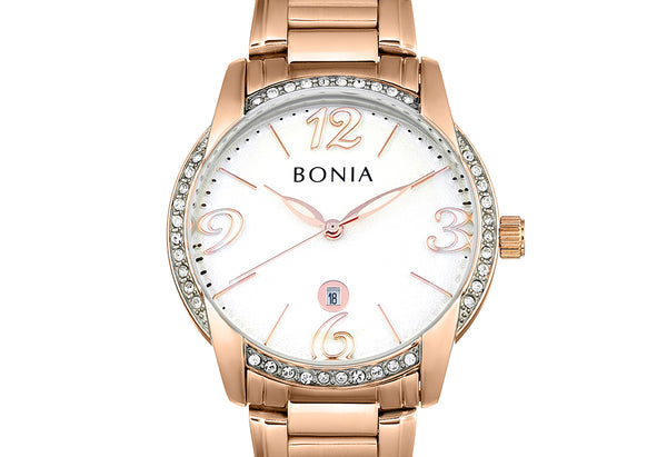 Rose Gold And White Karin Ladies' Watch