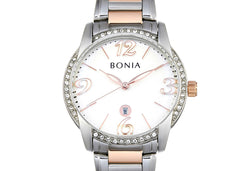 Silver, Rose Gold And White Karin Ladies' Watch