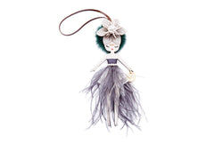 Odette Evening Doll Key Charm