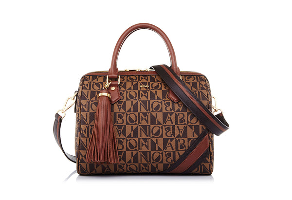 Monogram Satchel M
