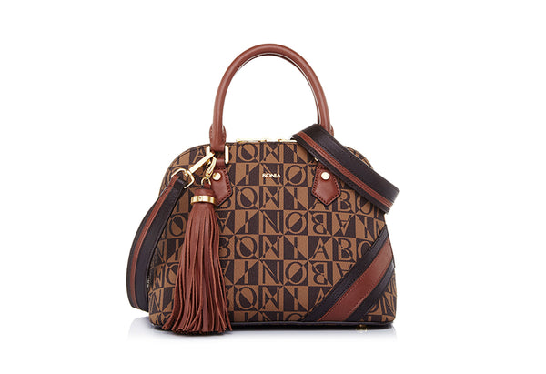 Monogram Satchel S