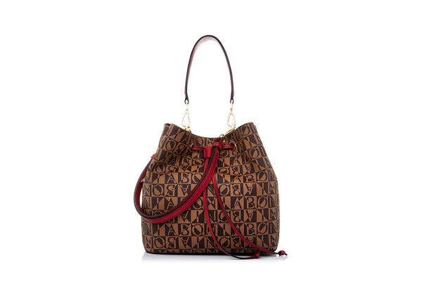 Aria Monogram Bucket Bag M