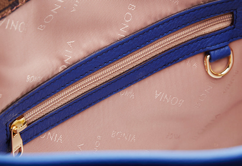 Ultramarine Monogram Basic Satchel M