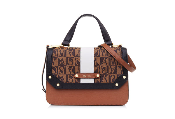 Monogram Teramo Double Flap Bag II S