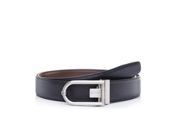 Jacobo Hard Nickel & Satin Gun Belt