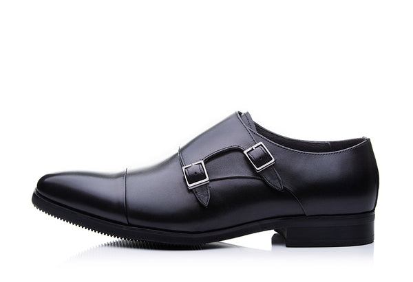 Athleisure Full Brogue Double Monk Straps