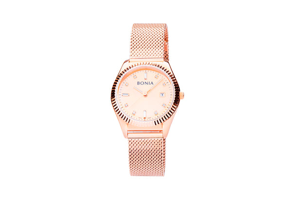 Rose Gold Caprice Ladies' Watch