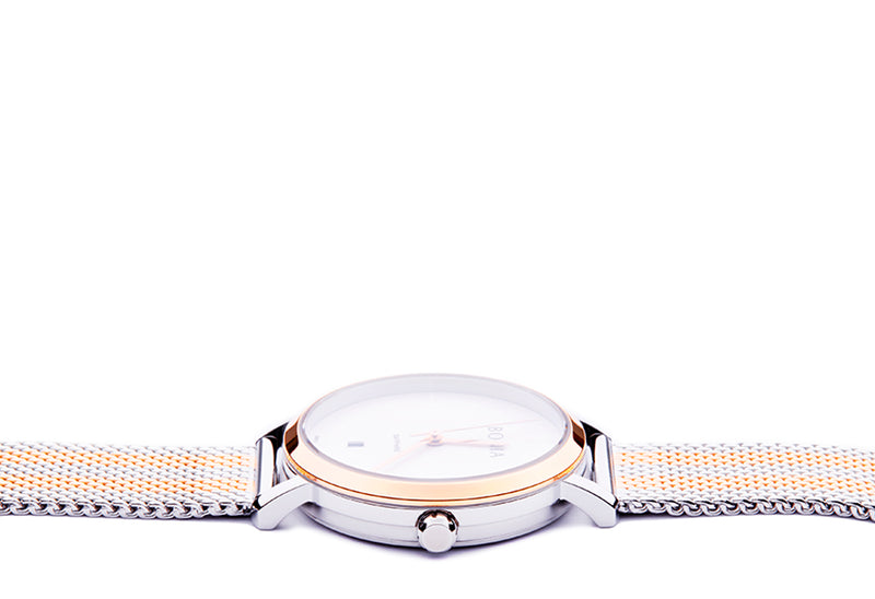 Rose Gold & Silver Kosmo Ladies' Watch