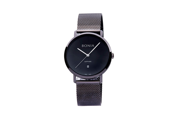 Rose Gold & Black Kosmo Men's Watch