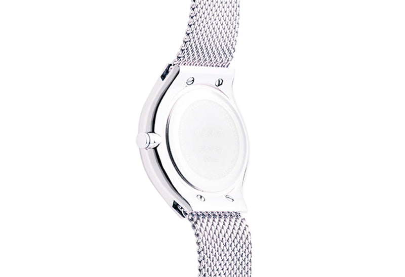 Silver Sunray Carmel Ladies' Watch