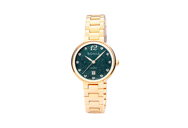 Gold & Green Brio Ladies' Watch