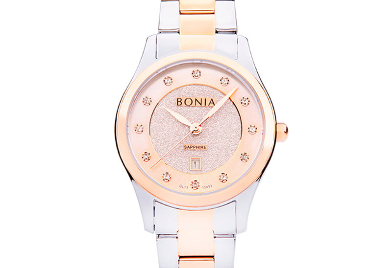 Rose Gold with Silver Pasquel Ladies' Watch